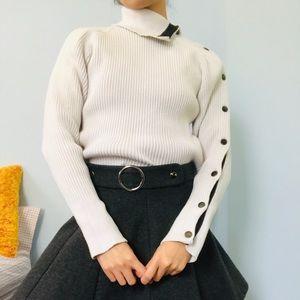 Zara Button Side Sweater
